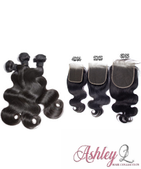 3 Bundles with HD 4x4 Closure