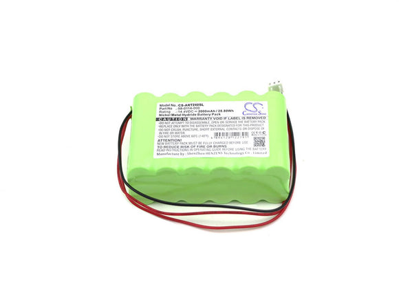 2000mAh Battery For ACROPRINT 58-0114-000,