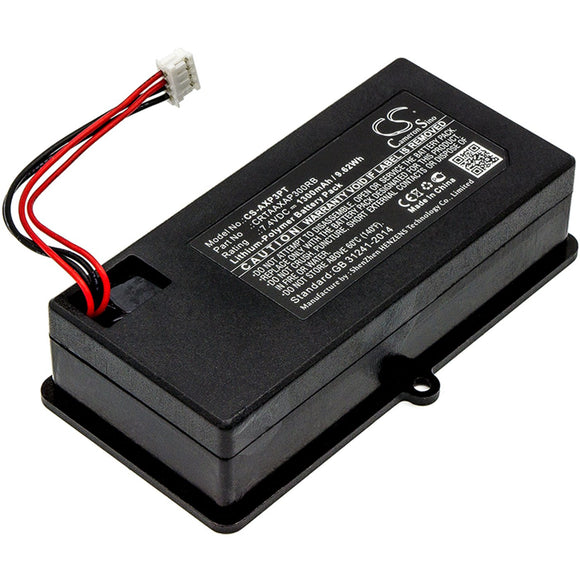 1300mAh Battery For AAXA CRTAAXAP300RB,