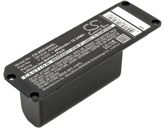 2600mAh Battery For BOSE 063287, 063404,