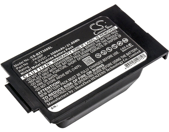 3500mAh Battery For BULLARD PA3BP,