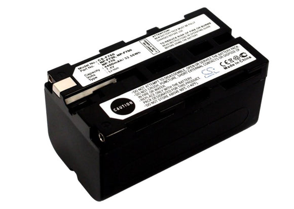 4400mAh Battery For SONY NP-F730, NP-F750, NP-F770,