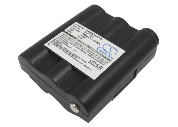 700mAh Battery For MIDLAND BATT5R, BATT-5R, PB-ATL/G7,