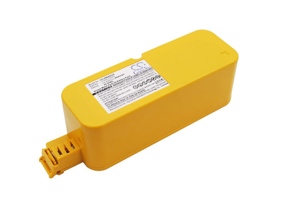 4000mAh Battery For CLEANFRIEND M488, Roomba 4188, Roomba 4210,