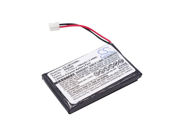 700mAh Battery For JAY PR0330,