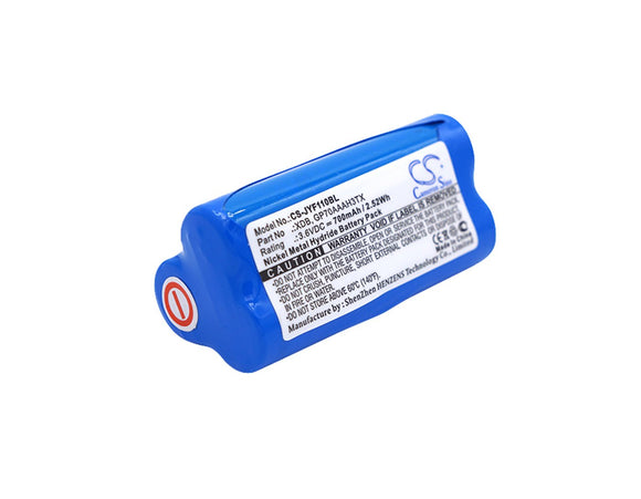 700mAh Battery For JAY Transmitter XDE, UDB2, UDE Transmitter, UWB A001, VUF110,