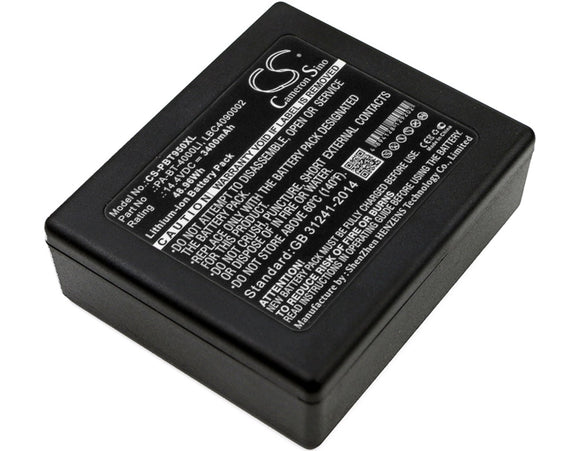3400mAh Battery For BROTHER P touch P 950 NW RuggedJet RJ 4030, RuggedJet RJ4040-K,