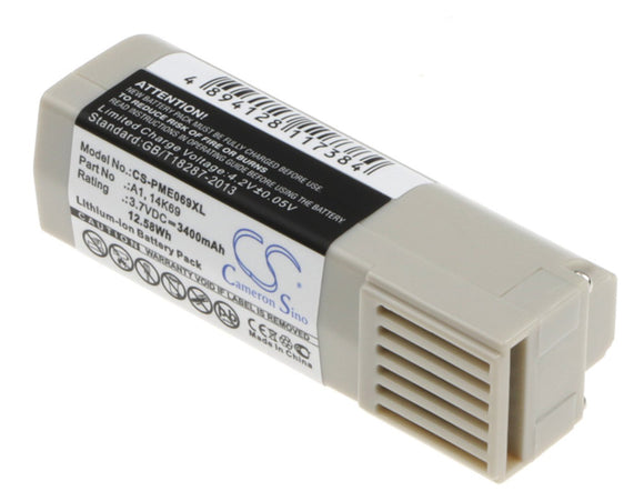 3400mAh Battery For PURE 14K69, A1,