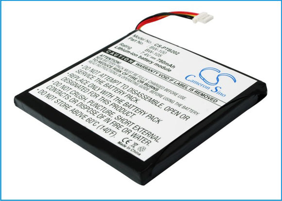 780mAh / 5.77Wh Battery For BROTHER BW-100, BW-105,