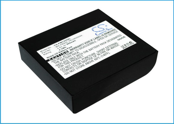 900mAh Battery For PANASONIC PA12830049, WX-PB900,