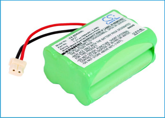 700mAh / 5.04Wh Battery For DOGTRA 1400 Transmitter, RR Deluxe, RRD, RRS,