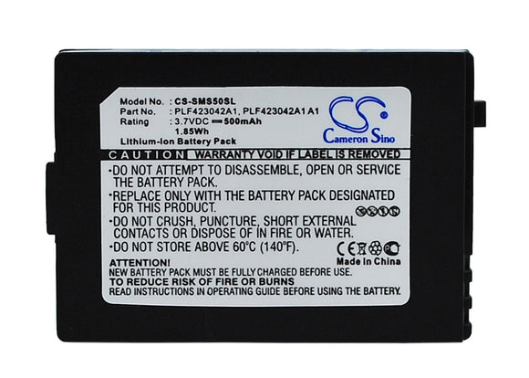 500mAh Battery For SIRIUS S50, S50SB1,