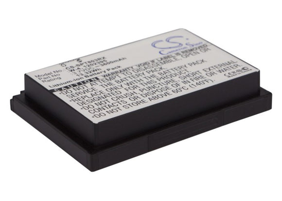 3600mAh / 13.32Wh Battery For SPRINT 1202395, W-4,