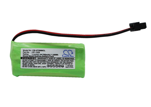 700mAh Battery For UNIDEN 780-2, D1361, D1361BK,