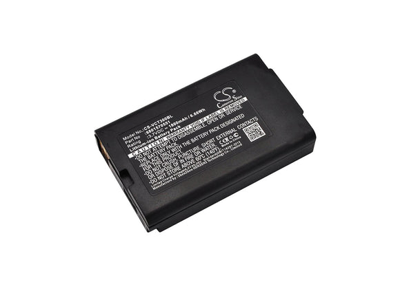 1800mAh Battery For VECTRON 6801570551,