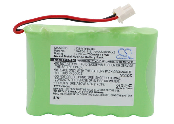 700mAh / 5.0Wh Battery For VERIFONE 70AAAH6BMXZ, BAT0017-B,