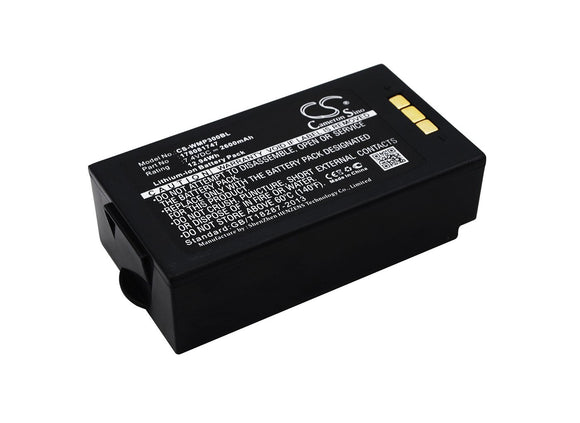 2600mAh Battery For MOBIWIRE MobiPrin 3,
