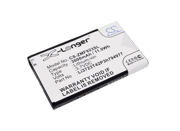 3000mAh Battery For ZTE MF923, VELOCITY,