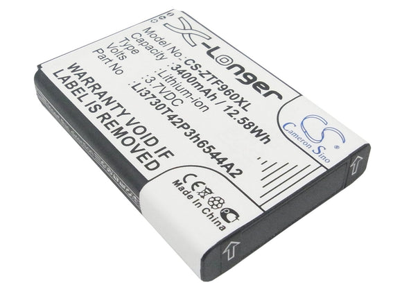 3400mAh / 12.58Wh Battery For T-MOBILE MF96,