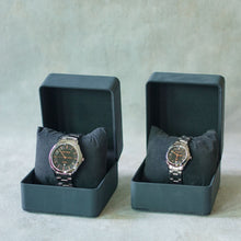 Load image into Gallery viewer, Jean Alexis Luxury Watch GT JA018 Black Dial (Man) Rosegold Hands