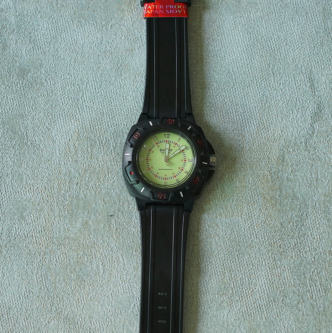 Positif Water Resistant Watch, Men Collection PS50953 Green Dial (Pria)