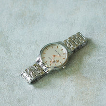 Load image into Gallery viewer, Jean Alexis Luxury Watch GT JA014 White Dial (Man) rosegold hands.