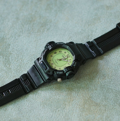 Positif Water Resistant Watch, Men Collection PS50991 Green Dial (Pria)