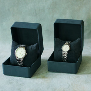 Jean Alexis Luxury Watch LT JA014 White Dial (Wanita) Silver Hands.