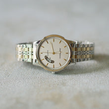 Load image into Gallery viewer, Jean Alexis Luxury Watch GKT JA014 White Dial (Man) Gold Hands