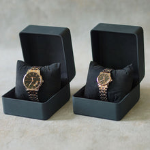 Load image into Gallery viewer, Jean Alexis Luxury Watch LST JA014 Black Dial (Wanita) Rosegold Hands