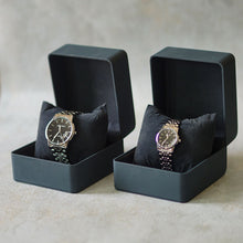 Load image into Gallery viewer, Jean Alexis Luxury Watch GT JA014 Black Dial (Man) Silver Hands