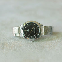 Load image into Gallery viewer, Jean Alexis Luxury Watch GT JA018 Black Dial (Man) Silver Hands