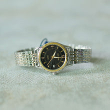 Load image into Gallery viewer, Jean Alexis Luxury Watch LKT JA019 Black Dial (Wanita) Gold Hands