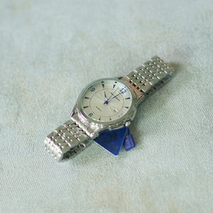 Jean Alexis Luxury Watch GT JA019 White Dial (Man) Blue Hands