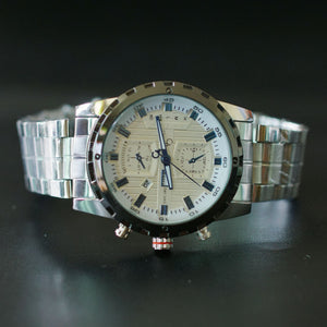 Christyan Arden Men Collection Water Resist GTH CA8645 White Dial