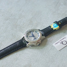 Muat gambar ke penampil Galeri, Christyan Arden Full Grain Leather CA2219 Black - White Dial (wanita)