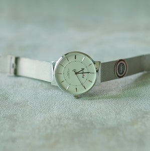 Positif Watch PS-7022 White Dial (Pria)