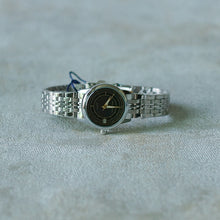 Load image into Gallery viewer, Jean Alexis Luxury Watch LT JA002 Black Dial (Wanita) Gold Hands