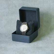 Load image into Gallery viewer, Jean Alexis Luxury Watch GT JA010 White Dial (Man) Gold Hands.