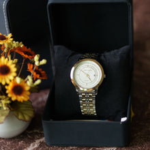 Load image into Gallery viewer, Jean Alexis Luxury Watch GKT JA002 White Dial (Man) Gold Hands
