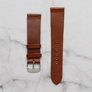 Christyan Arden Full Grain Leather CA0002 Brown - Black Dial (Wanita)