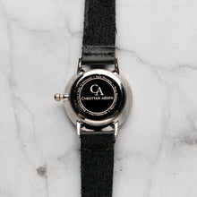 Load image into Gallery viewer, New Christyan Arden BELEN CA3106 - Around The World Edition - Black Dial - Black Full Grain Strap (Wanita)