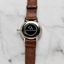 Muat gambar ke penampil Galeri, New Christyan Arden BELEN CA3106 - Around The World Edition - Black Dial - Brown Full Grain Strap (Wanita)