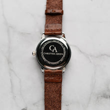 Muat gambar ke penampil Galeri, New Christyan Arden NILES CA3211 - Around The World Edition - Black Dial - Brown Strap (Wanita)