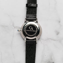 Load image into Gallery viewer, New Christyan Arden VASILIOS CA3107 - Around The World Edition - Black Dial - Black Full Grain Strap (Wanita)