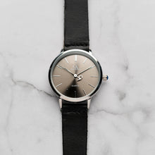 Muat gambar ke penampil Galeri, New Christyan Arden LENORE CA3207 - Around The World Edition - Grey Sunburst Dial - Black Full Grain Strap (Wanita)