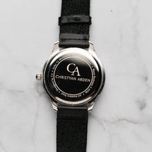Load image into Gallery viewer, New Christyan Arden MILLICENT CA3214 - Around The World Edition - Black Dial - Black Full Grain Strap (Pria)