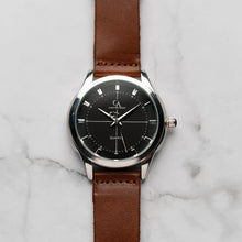 Load image into Gallery viewer, New Christyan Arden MILLICENT CA3214 - Around The World Edition - Black Dial - Brown Strap (Pria)