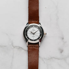 Load image into Gallery viewer, New Christyan Arden MILLICENT CA3214 - Around The World Edition - White Dial - Brown Strap (Wanita)