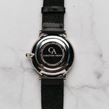 Muat gambar ke penampil Galeri, New Christyan Arden THEO CA3205 - Around The World Edition - Grey Sunburst Dial - Black Full Grain Strap (Pria)
